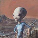 alien-70×70_cm_-oil_on_canvas-2013