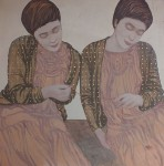 Blood_ties._70-70cm.oil_on_canvas