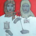 Nadzeya Hadun and Yan Yeresko