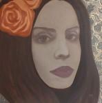 Orange_rose.70-70.oil_on_canvas