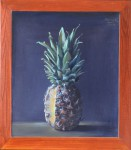 Pineapple_in_a_Mahogany_Frame
