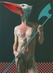 The_Pelican-110×80cm-oil_and_acrylic_on_canvas-2014-1
