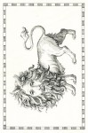 19. The Lion Cub-Mate Orr Tarot-17×11cm-archival ink on fabriano artistico paper-2015