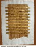 3. VENETIAN BLIND, 100cm x 135cm, paper, gold leaf, 2004
