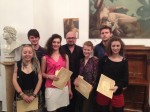 Academy of Fine Arts Budapest, Scholarships Hand Out
