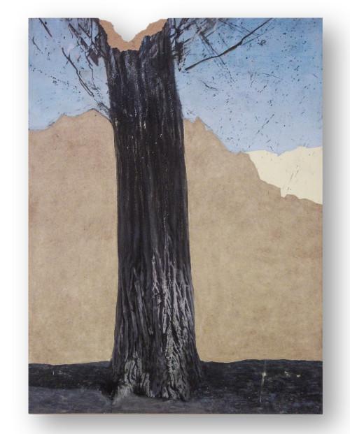 L. Nagy István - Lombhullás - akril, farost - 124x92 cm - 2016.