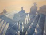 shadows-on-the-stairs-beatrix-makkai-kovacs-170x130, 2013