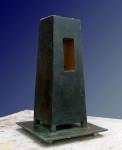 TOWER, 41cm x 25cm x 25cm, bronze, 2000